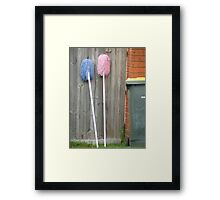 Two Mops Framed Print