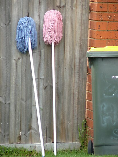 Two Mops by Joan Wild