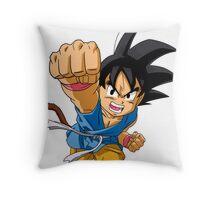 Son Goku GT Throw Pillow