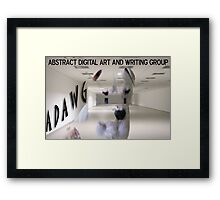 MY DOG Framed Print