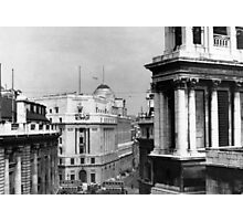 Photos by my Grandfather - Looking Down on Lombard St Photographic Print