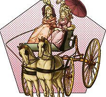 """""""Get in loser, we're going shopping"""" Ladies in a Carriage  by ScottHarrand"""