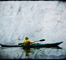 Rainy Day Kayaker by BornBarefoot