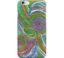 Swirl design iPhone Case/Skin