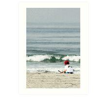 Sandcastles in San Diego Art Print