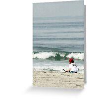 Sandcastles in San Diego Greeting Card