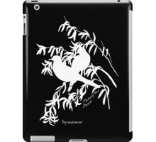 White Peaceful Dove iPad Case/Skin