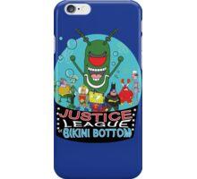 Justice League of Bikini Bottom iPhone Case/Skin