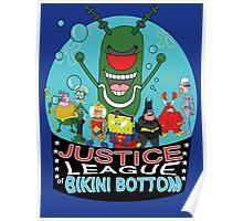 Justice League of Bikini Bottom Poster