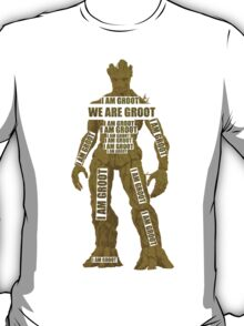 GROOT TYPOGRAPHY T-Shirt