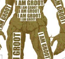 GROOT TYPOGRAPHY Sticker