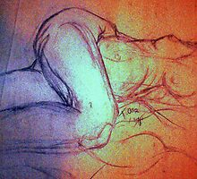 NUDE FIGURE DRAWING 17 by Tammera