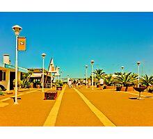Walk through the Port of Punta del Este Photographic Print