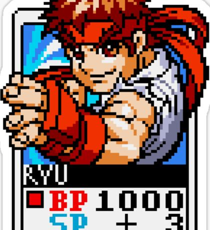 Ryu - Street Fighter Sticker