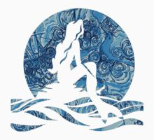 Lilly Pulitzer Inspired Mermaid (2) Dark N Stormy by mlr28blu
