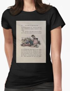 The Queen of Pirate Isle Bret Harte, Edmund Evans, Kate Greenaway 1886 0044 Lone Widow Womens Fitted T-Shirt