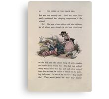 The Queen of Pirate Isle Bret Harte, Edmund Evans, Kate Greenaway 1886 0044 Lone Widow Canvas Print