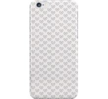 Pale Hearts iPhone Case/Skin