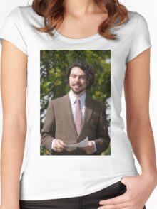 Ryan Gage at Hampton Court Palace flower show 2015 Women's Fitted Scoop T-Shirt