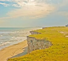 Lonely Beach with Barranco by DFLC Prints