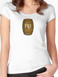 Fili in barrel Women's Fitted Scoop T-Shirt