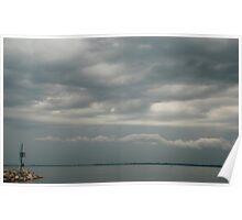 Moody Duino Sky Poster
