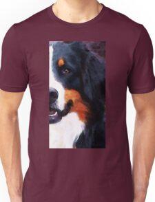 Bernese Mountain Dog - Half Face Unisex T-Shirt