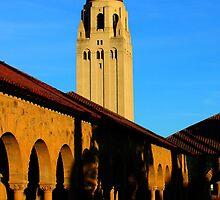 Stanford University Campus. Hoover Foundation Tower. California 2009 by Igor Pozdnyakov