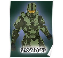 Spartans Never Die Poster