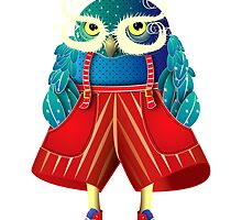 My Owl Red Pants by IsabelSalvador