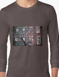 house facade Long Sleeve T-Shirt