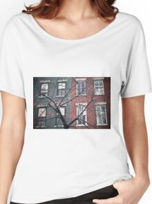 house facade Women's Relaxed Fit T-Shirt