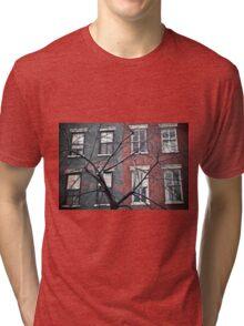 house facade Tri-blend T-Shirt