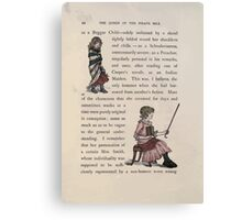 The Queen of Pirate Isle Bret Harte, Edmund Evans, Kate Greenaway 1886 0014 Beggar Child Canvas Print