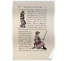 The Queen of Pirate Isle Bret Harte, Edmund Evans, Kate Greenaway 1886 0014 Beggar Child Poster