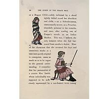 The Queen of Pirate Isle Bret Harte, Edmund Evans, Kate Greenaway 1886 0014 Beggar Child Photographic Print