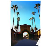 Stanford University Campus. An Archway to the Quad. California 2009 Poster