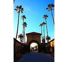 Stanford University Campus. An Archway to the Quad. California 2009 Photographic Print