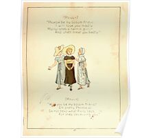 The Glad Year Round for Boys and Girls by Almira George Plympton and Kate Greenaway 1882 0047 Polly Poster