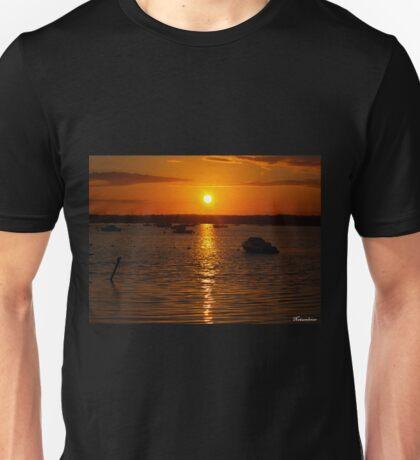 Sunset Over Sandbanks Unisex T-Shirt