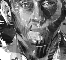 Ben Linus Portrait from Lost Sticker