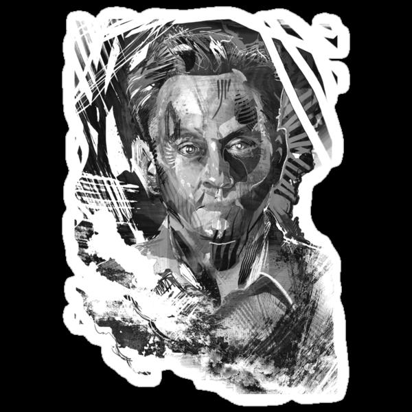 Ben Linus Portrait from Lost by jimiyo