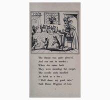 Dame Wiggins of Lee & her Seven Wonderful Cats Mrs Pearson, Richard Scrafton Sharp, John Ruskin, Kate Greenaway, William Harcourt Hooper 1885 0023 Dame was Quite Pleased One Piece - Short Sleeve