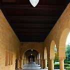 Stanford University Campus. An Archway. California 2009 by Igor Pozdnyakov
