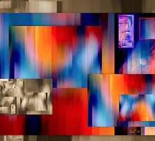 The temptation of colours on a dull background by Vasile Stan
