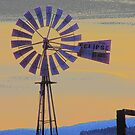 Windmill Sunset by Betty E Duncan © Blue Mountain Blessings Photography