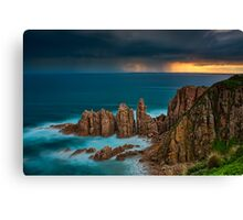 Stormy Sunset Above The Pinnacles Canvas Print