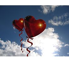 Balloon hearts  Photographic Print