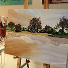 At the Studio - Work in Progress by Nira Dabush