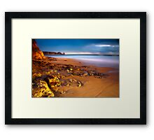 Dusk at Cape Woolamai Framed Print